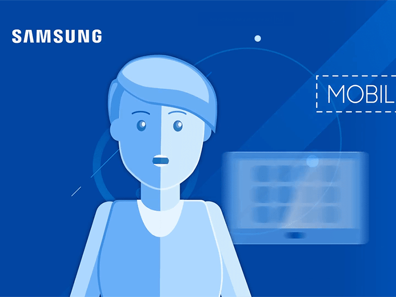 Digital marketing - video animations Samsung success story